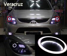 [Kspeed] (Fits: Hyundai 2007-2012 Veracruz ix55) LED Circle Eye Modules Diy Kit