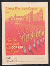 Protège cahier GRAND MOULIN DE CORBEIL pate alimentaire copybook