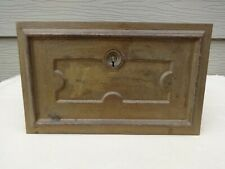 Antique Large Post Office Box Drawer Door Lock by Johnsons Rotary Lock NY w/Key