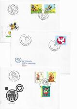 Schweiz 2012 - Jahresserie sauber aus ABO auf FDC