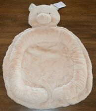 Pottery Barn Kids Baby Pink Pig Piglet Interactive Nursery Plush Play Mat New!