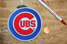 """Chicago Cubs 3 7/8"""" Patch Primary Logo 1979-Present Baseball"""