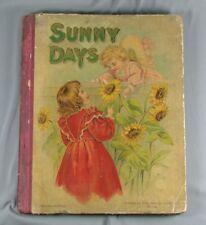Sunny Days - Victorian Children's Book