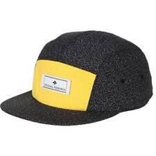 LRG Dan Atlanta 5 Panel Camper Hat Mens Adjustable Snapback Black Cap NWT New