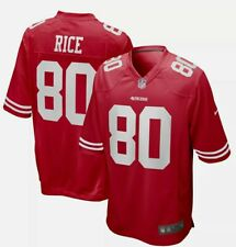 San Francisco 49ers Jerry Rice #80 Nike Men's NFL Jersey Size Large NEW