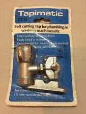 Tapimatic Self Cutting Tap15mm Washing Machine Pipe Outside Tap TT15