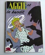 AGGIE . AGGIE ET LE BANDIT .  8 . BD souple