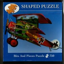 AT THE AIR SHOW by Russell Cobane 750 Piece SHAPED PUZZLE BITS & PIECES Sealed