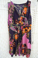 Damen Taifun Etuikleid Kleid Bunt Muster  Gr 44