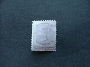 Ceylon QV 1864 ½d dull mauve SG48 MM