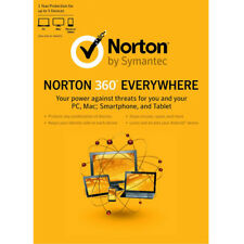 Norton 360 Everywhere 21224705 Security for up to 5 Devices