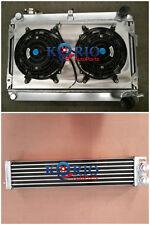 Radiator&Shroud&Fan&Oilcooler MAZDA RX7 SERIES 1 2 3 S1 S2 S3 SA/FB MT 1979-1985