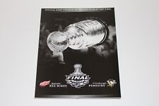 2009 Official Stanley Cup Final Program Pittsburgh Penguins Sidney Crosby Finals