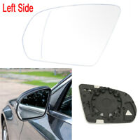 For MERCEDES W205 W222 2014-2018 HEATED Left Door Side Wing Mirror White Glass