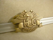 Vintage Collectible Brass Clutch Back Pin Harley Davidson Owners Group 1983!