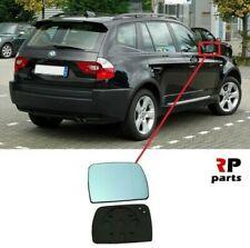 Für BMW X3 E83 2003-2010 Seitenspiegel Beheiztes Spiegelglas mit Rahmen Richtige