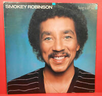 SMOKEY ROBINSON BEING WITH YOU VINYL LP 1981 ORIGINAL GREAT CONDITION! VG+/VG+!!