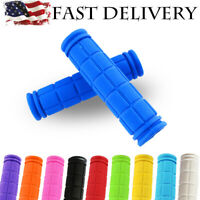 Scooter Handlebar Grips Rubber Hand Grip MTB BMX Cycle Road Mountain Bicycle