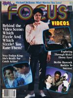 ORIGINAL Vintage Fall 1984 Right On Focus Videos Magazine Michael Jackson