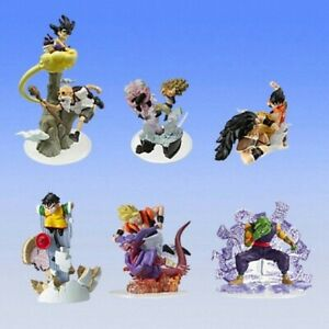 Raro Set 6 Figura gashapon Dragon Ball Z Imagination Parte 8 BANDAI Japan Nuevo