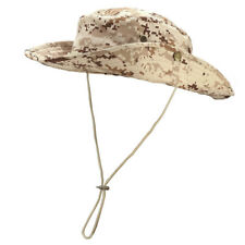 1dd0cf76047 Unisex Bucket Hat Fishing Hunting Boonie Sun Cap Military Camo Wide Brim  Outdoor