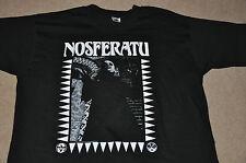VTG Nosferatu Dracula Vampire Horror Punk Cult L T-Shirt USA NEW 80s 90s XL