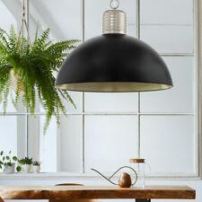 Hänge Lampe umbra grau Stahl ALU Gäste Zimmer Beleuchtung Decken Leuchte Pendel