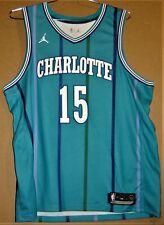 CHARLOTTE HORNETS KEMBA WALKER NBA JERSEY - TEAL SIZE 56