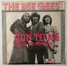 The Bee Gees ‎– Run To Me Orig French 45/ps 7' 1972