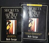 Secrets of the Secret Place ▪︎ Bob Sorge.  [Leader's Manual included]