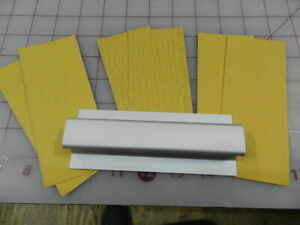 """Easy Touch Bar Sander - 5-1/2"""" With sand paper GPMR6169 Rare Hard to find."""