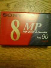 Sony 8 mp pal 90 camcorder tape