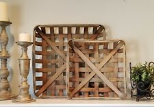 TOBACCO BASKET ~Small Basket Only Farmhouse Chic Decor!