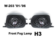 (2) Black Replacement Projectors Fog Lights EMARK For Mercedes Benz w203 C Class