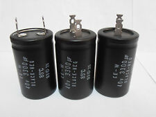 3 pcs Black-Neg Audio Capacitor 3300uF 40V Ce-W New