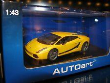 1/43 AUTOART #54614 LAMBORGHINI GALLARDO SUPERLEGGERA METALLIC YELLOW