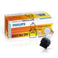 Philips BAX B10d 5W 12V Schwarz/Black 10 Stück Instrumentenbeleuchtung 12615CP