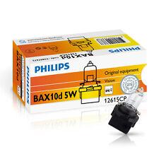 Philips Bax b10d 5w 12v Noir/Black 10 pièces Instruments éclairage 12615cp