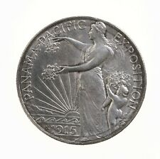 Raw 1915-S Panama Pacific 50C Uncertified Ungraded Silver Half Dollar US Commem