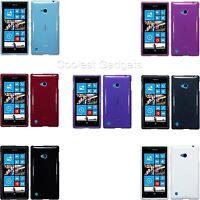 For Nokia Lumia 720 TPU Slim Gel Silicone Skin Case Cover
