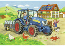 Ravensburger Hard At Work 2 x 12 pieces Jigsaw Puzzles