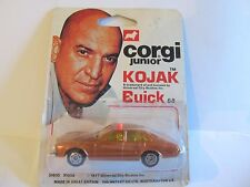 CORGI JUNIOR 68 KOJAK'S BUICK REGAL 1977 SEALED LOT 99 NEAR MINT SEALED CARD