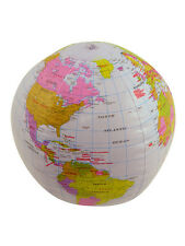 Inflatable Globe Atlas World Map Earth Geological School Fancy Dress Party Ball