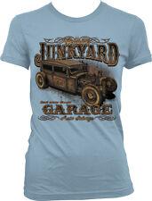 Genuine Junkyard Garage Rust Never Sleeps Classic Auto Salvage Juniors T-Shirt