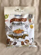 Serrano Snacks Chicken Dog Treats 100g Bag