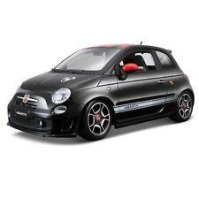 2008 Fiat 500 Abarth rojo Bburago 12078