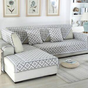 Jacquard Sofa Covers Sofa Towel Cotton Linen  Couch Cover Corner Sofa Case