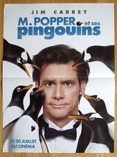 AFFICHE - M. POPPER ET SES PINGOUINS JIM CARREY