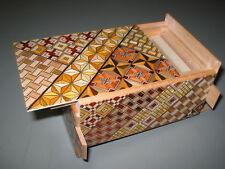 4 Sun 21 Step Japanese puzzle box-NEW-