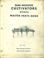 FORD Master PARTS BOOK Rear Mounted Cultivators #PA 5376 D (AF-7)